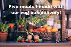 Five super simple meals made using the veg from our veg box....   The Diary of a Frugal Family Vegetable Boxes, Vegetable Curry, Chicken And Vegetables, Roasted Vegetables, Simple Meals, Easy Meals, Heinz Tomato Soup, Slow Cooker Fajitas, Delicious Recipes