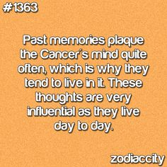Cancer Zodiac Sign: Sooo true!  I would know, hah.