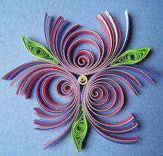 multi-strip eccentric coils..quilling