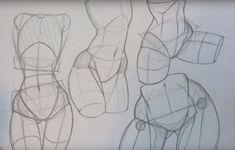 Новости Anatomy Sketches, Body Sketches, Drawing Sketches, Art Drawings, Sketching, Body Anatomy, Anatomy Art, Anatomy Drawing, Drawing Tutorials