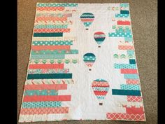 Up in the Air Baby Quilt