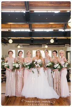 Blush + Sequins   Oxford Exchange Wedding   Marissa Moss Photography