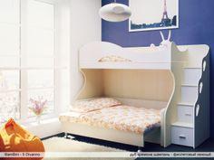 Детская Двухъярусная кровать с диваном Bambini Divanno - 5