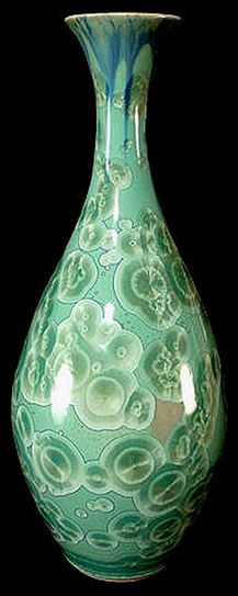 William Melstrom, crystalline vase. An amazing Austin, TX (ATX) Ceramicist.