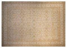 "10'x13'11"" Peshawar Rug, Ivory  $6489"