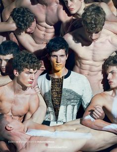 "Adrian Cardoso & Alex Pierce  & Cristi Isofii & Gabriel Shinel & Marin & Vitan in ""Attack Art"" Photographed ..."