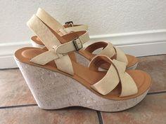 34b8f786b Kork-Ease The Original Women s Beige Wedge Sandals Size 9  KorkEase   PlatformsWedges Beige