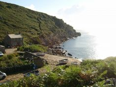 Penberth Cove - the perfect destination after a relaxing walk along the cliff-tops and through the fields.