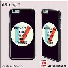 21 Pilot Kill Your Mind For Iphone 7 Case