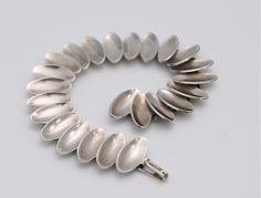 Sterling Silver bracelet made by Anton Michelsen, Sweden c.1962  #mid-century #modernist #midcenturymodern #retro