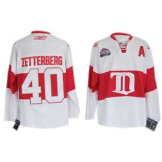b963cc59dfb Detroit Red Wings Nicklas Lidstrom White NHL Winter Classic Jerseys C Patch