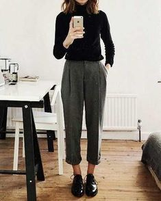 Outfit for business casual recruitment of female students business casual out . nature fashion travel passion craft Outfit for business casual student recruitment Business casual out… – business casual craft fashion female hellowinter natur Mode Outfits, Fall Outfits, Autum Outfits 2018, Looks Style, Style Me, Black Style, Classy Style, Outfit Trends, Inspiration Mode