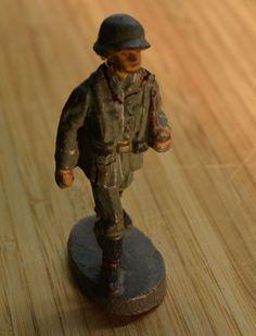 Konvolut Elastolin Figuren Massefiguren Wehrmacht Soldaten   eBay