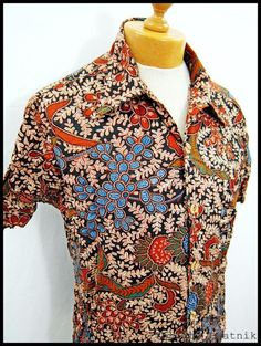 Vintage 1970s 70s AMAZING Disco Indie Pattern Shirt M-L | eBay