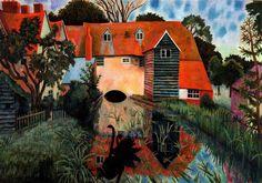Dora Carrington. Tidmarsh Mill.