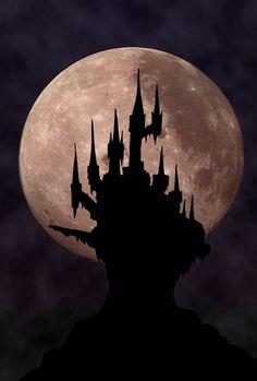 CastleVania Full moon 1691 by Tufsing on DeviantArt Castlevania Dracula, Castlevania Anime, Castlevania Video Game, Fantasy Kunst, Fantasy Art, Castlevania Wallpaper, Zombie Tsunami, Mundo Dos Games, Dracula Castle