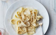 Real alfredo should never (never!) include cream; the silky sauce is the result of an emulsion between the grated cheese, melted butter, and starchy pasta water. This is part of BA's Best, a collection of our essential recipes.