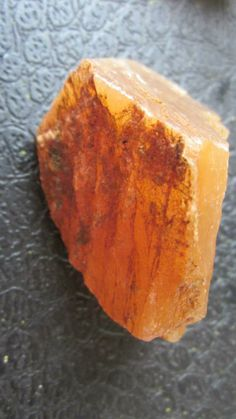 Orange calcite for friendship.