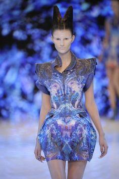 Alexander McQueen @ Paris Womenswear S/S 10 - SHOWstudio - The Home of Fashion Film