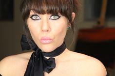 Vintage Makeup Look  Best Affordable Liquid Eyeliner:  http://makeupminutes.com/revlon-colorstay-liquid-eyeliner-7-2/