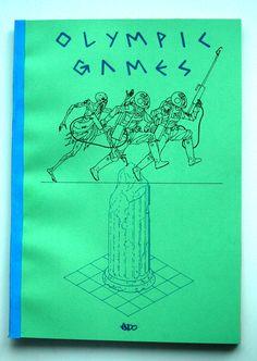 Olympic Games - decadence comics