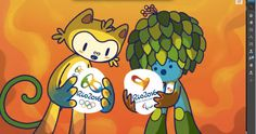 <b>These little dudes are just so excited that the Olympics will finally come to Brazil.</b>