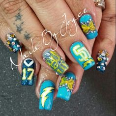 Www.nailmerite.com San Diego Chargers ⚡⚡