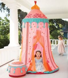 princess play tent.....Stacey.....pretty cute!