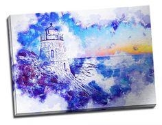 Tablou din aluminiu striat To the Lighthouse! Lighthouse, Interior Design, Painting, Home Decor, Art, Bell Rock Lighthouse, Nest Design, Art Background, Light House