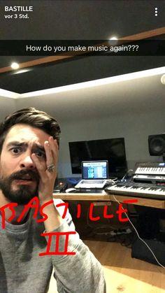 Kyle's so funny ^^ Snapchat 15.01.2018