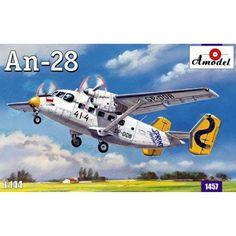 Antonov An 28 Scale Plastic Model Kit by AMODEL 1457 #Amodel