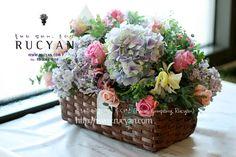 출산축하 꽃바구니, 플라워바스켓_플라워 컴퍼니,루시안(RUCYAN) :: 네이버 블로그