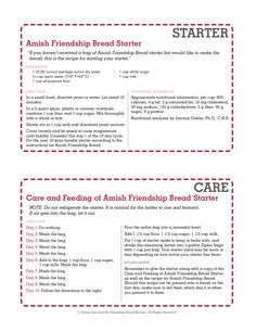 Printable Amish Frie