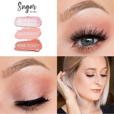 sugar~Another beautiful Shadowsense trio. I'd love to assist you., MAKE UP, sugar~Another beautiful Shadowsense trio. I'd love to assist you with all your cosmetic needs My goal is and has been to assist you in. Eyeshadow Looks, Eyeshadow Makeup, Beauty Make Up, Hair Beauty, Skin Care Routine For Teens, Senegence Makeup, Senegence Products, Shadow Sense, Maskcara Beauty