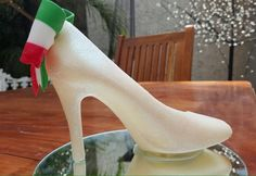 Zapatilla estilo Mexicano. www.lamansionrosa.com