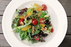 Das Rezept für Bunter Salat mit Schafskäse mit allen nötigen Zutaten und der einfachsten Zubereitung - gesund kochen mit FIT FOR FUN