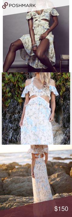 For Love and Lemons Cadence Maxi dress For Love and Lemons cadence maxi dress in size medium --only worn once! For Love and Lemons Dresses Maxi