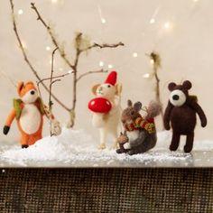 Felt Ornament Crew