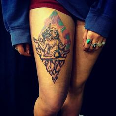 Steven universe tattoo. The gem mountain.