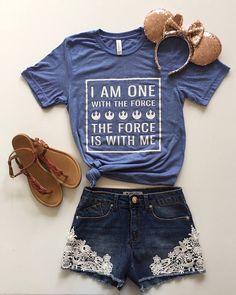 Sept 30 Shipping//Rogue One Shirt//Disney Shirt//Star Wars//Star Wars Shirt//The Force Shirt