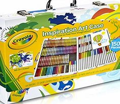 Crayola  KLEURKOFFER 150  - SPE Let your kids dive into the world of art with a fab pack thats designed for those crafty little fingers! With over a hundred colours, shapes, sizes and types to choose f (Barcode EAN = 0799198185612) http://www.comparestoreprices.co.uk/december-2016-week-1/crayola-kleurkoffer-150 --spe.asp