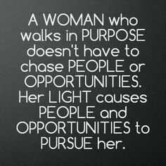 Walk in purpose