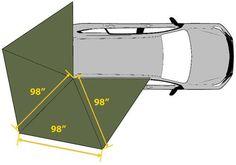 Diy Roof Top Tent Diy Awning Off Road Car Roof Awning Diy Roof Top Tent Diy