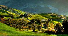 Сельская местность в Эмилии-Романье, Италия
