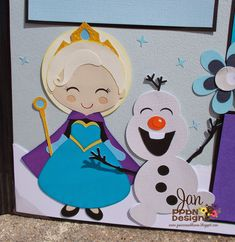 Let It Go scrapbook layout.    Link here.  I changed up the colors some and made the title smaller so I could add an extra mat. I put st...