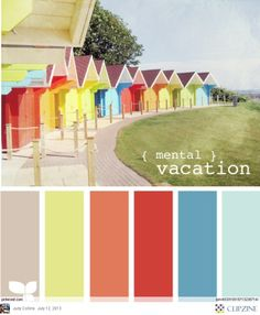 The beach color palette Colour Pallete, Colour Schemes, Color Combos, Color Patterns, Color Palettes, Design Seeds, Beach Color, World Of Color, Color Stories