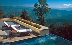Enjoy beautiful views of the mountains and valleys from the outdoor Jacuzzi and the heated swimming pool, at Wildflower Hall, Shimla, from The Oberoi Hotels and Resorts. Shimla, Top 10 Hotels, Hotels And Resorts, Luxury Hotels, Hilton Hotels, Marriott Hotels, World's Most Beautiful, Beautiful Places, Amazing Places