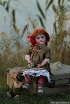 New Dolls, Barbie Dolls, Antique Dolls, Vintage Dolls, Old Toys, Doll Face, Stuffed Animals, Old And New, Puppets