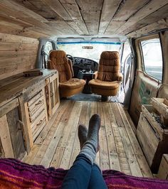 "25.8k Likes, 329 Comments - Vanlife | Travel | Adventure (@project.vanlife) on Instagram: ""Wooden touch  by @j_bonde Via @openroadlife"""