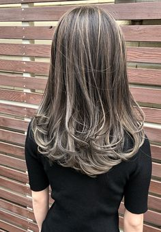 Dark Grey Hair Color, Hair Color For Black Hair, Brown Hair Colors, Blue Hair, Ash Grey Hair, Long Gray Hair, Blond Ash, Brown Blonde Hair, Light Brown Hair